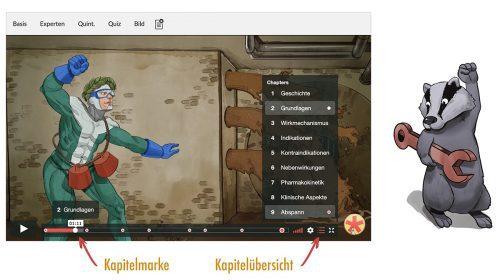 Videokapitel Funktion auf Meditricks.de